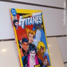 Comics : EQUIPO TITANES ORIGENES SECRETOS OBRA COMPLETA DC - ZINCO OCASION. Lote 259916880