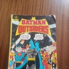 Cómics: BATMAN Y LOS OUTSIDERS NUM. 1. Lote 260332075