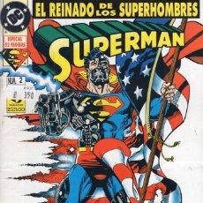 Comics : SUPERMAN VOL. 3 Nº 2 EL REINADO DE LOS SUPERHEROES - ZINCO - BUEN ESTADO. Lote 260354285