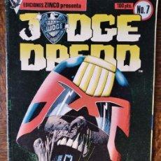 Cómics: JUDGE (JUEZ) DREDD Nº 7 - ZINCO. Lote 261343405