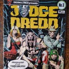 Cómics: JUDGE (JUEZ) DREDD Nº 3 - ZINCO. Lote 261343460