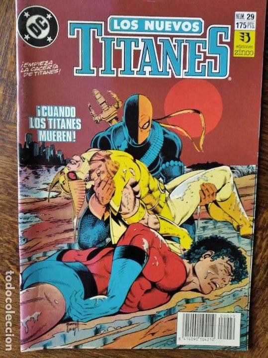 LOS NUEVOS TITANES Nº 29 - 2ª SERIE ZINCO DC COMICS - (Tebeos y Comics - Zinco - Nuevos Titanes)