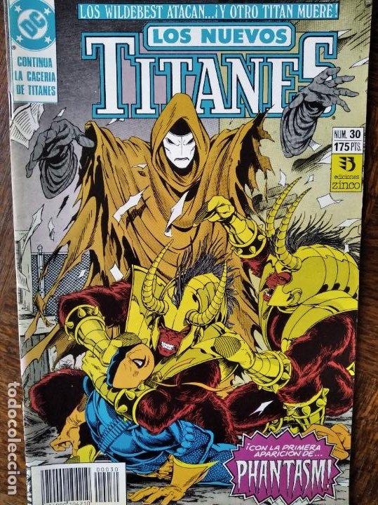 LOS NUEVOS TITANES Nº 30 - 2ª SERIE ZINCO DC COMICS - (Tebeos y Comics - Zinco - Nuevos Titanes)