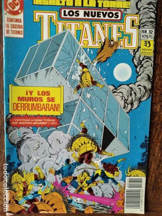 LOS NUEVOS TITANES Nº 32 - 2ª SERIE ZINCO DC COMICS - (Tebeos y Comics - Zinco - Nuevos Titanes)
