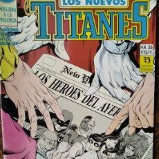 Cómics: LOS NUEVOS TITANES Nº 35 - 2ª SERIE ZINCO DC COMICS -. Lote 261353865