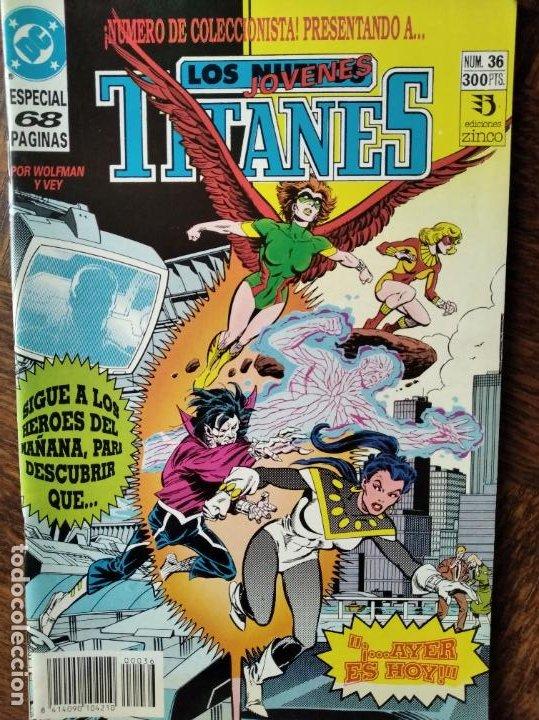 LOS NUEVOS TITANES Nº 36 - 2ª SERIE ZINCO DC COMICS - (Tebeos y Comics - Zinco - Nuevos Titanes)