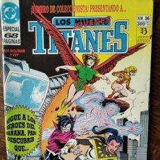Cómics: LOS NUEVOS TITANES Nº 36 - 2ª SERIE ZINCO DC COMICS -. Lote 261354210