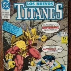 Cómics: LOS NUEVOS TITANES Nº 37 - 2ª SERIE ZINCO DC COMICS -. Lote 261354270
