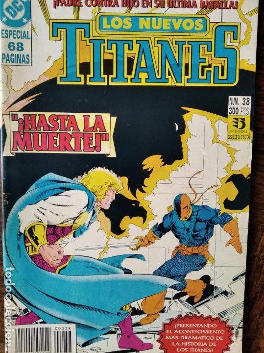 LOS NUEVOS TITANES Nº 38 - 2ª SERIE ZINCO DC COMICS - (Tebeos y Comics - Zinco - Nuevos Titanes)