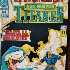 Cómics: LOS NUEVOS TITANES Nº 38 - 2ª SERIE ZINCO DC COMICS -. Lote 261354520
