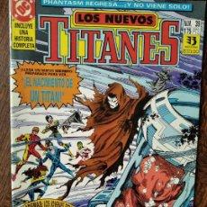 Cómics: LOS NUEVOS TITANES Nº 39 - 2ª SERIE ZINCO DC COMICS -. Lote 261354590