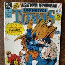 Cómics: LOS NUEVOS TITANES Nº 40 - 2ª SERIE ZINCO DC COMICS -. Lote 261354650