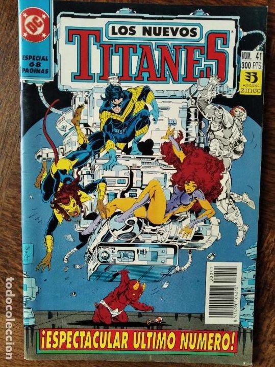 LOS NUEVOS TITANES Nº 41, ULTIMO NUMERO - 2ª SERIE ZINCO DC COMICS - (Tebeos y Comics - Zinco - Nuevos Titanes)