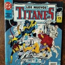 Cómics: LOS NUEVOS TITANES Nº 41, ULTIMO NUMERO - 2ª SERIE ZINCO DC COMICS -. Lote 261355505