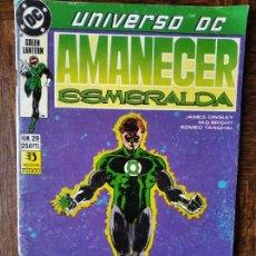 Cómics: GREEN LANTERN AMANECER ESMERALDA UNIVERSO DC Nº 29 - ZINCO/ DC COMICS. Lote 261359285