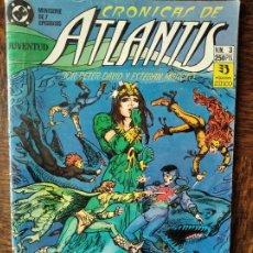 Cómics: LAS CRONICAS DE ATLANTIS- PETER DAVID/ ESTABAN MAROTO- Nº 3 - ZINCO/ DC COMICS. Lote 261359720