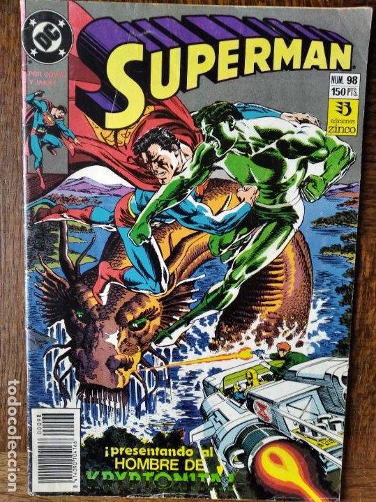 SUPERMAN Nº 98 - ZINCO/ DC COMICS (Tebeos y Comics - Zinco - Superman)
