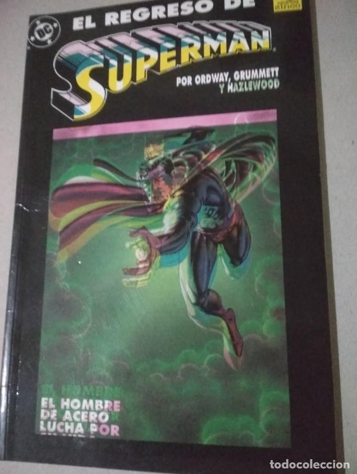 COMIC SUPERMAN - RAREZA - TINTAS CORRIDAS (Tebeos y Comics - Zinco - Superman)