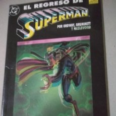 Cómics: COMIC SUPERMAN - RAREZA - TINTAS CORRIDAS. Lote 261630600