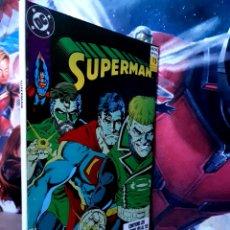 Cómics: EXCELENTE ESTADO SUPERMAN 109 AL 112 RETAPADO TOMO 31 DC EDICIONES ZINCO. Lote 261784135