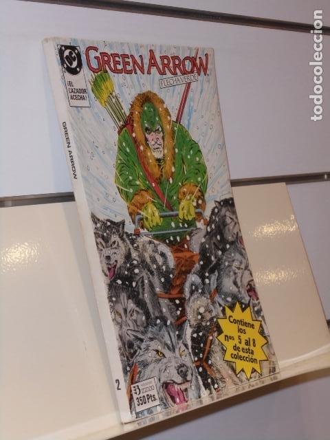 RETAPADO GREEN ARROW FLECHA VERDE CONTIENE LOS Nº 5-6-7 Y 8 DE LA COLECCION DC - ZINCO (Tebeos y Comics - Zinco - Retapados)