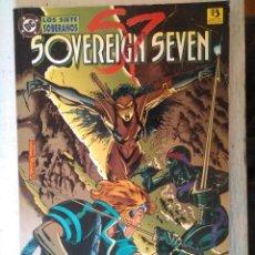 Cómics: SOVEREING SEVEN LOS SIETE SOBERANOS COMIC DC. Lote 261845110