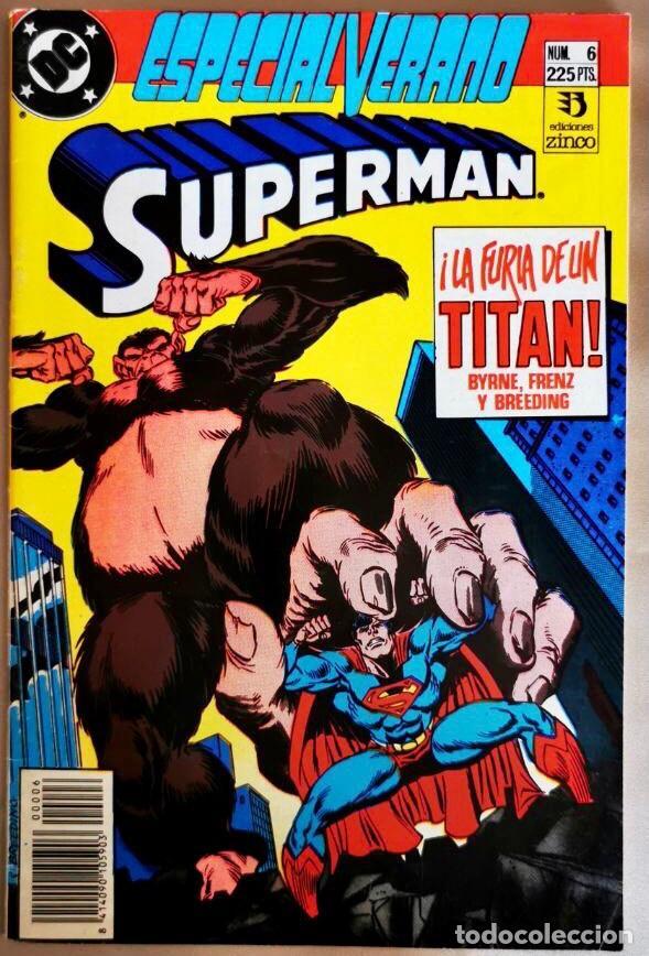 SUPERMAN ESPECIAL VERANO #6 EDICIONES ZINCO (Tebeos y Comics - Zinco - Superman)