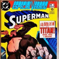 Cómics: SUPERMAN ESPECIAL VERANO #6 EDICIONES ZINCO. Lote 261900915