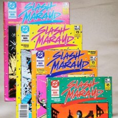 Cómics: SLASH MARAUD #4, 5, 6 (DOUG MOENCH / PAUL GULACY) ZINCO, 1990. Lote 261965205