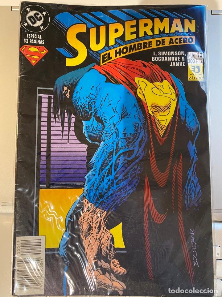 SUPERMAN EL HOMBRE DE ACERO 12 - EL REINADO DE LOS SUPERHOMBRES - ZINCO (Tebeos y Comics - Zinco - Superman)
