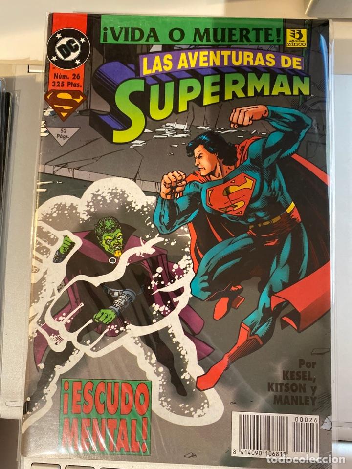 SUPERMAN 26 - EL REINADO DE LOS SUPERHOMBRES - ZINCO (Tebeos y Comics - Zinco - Superman)
