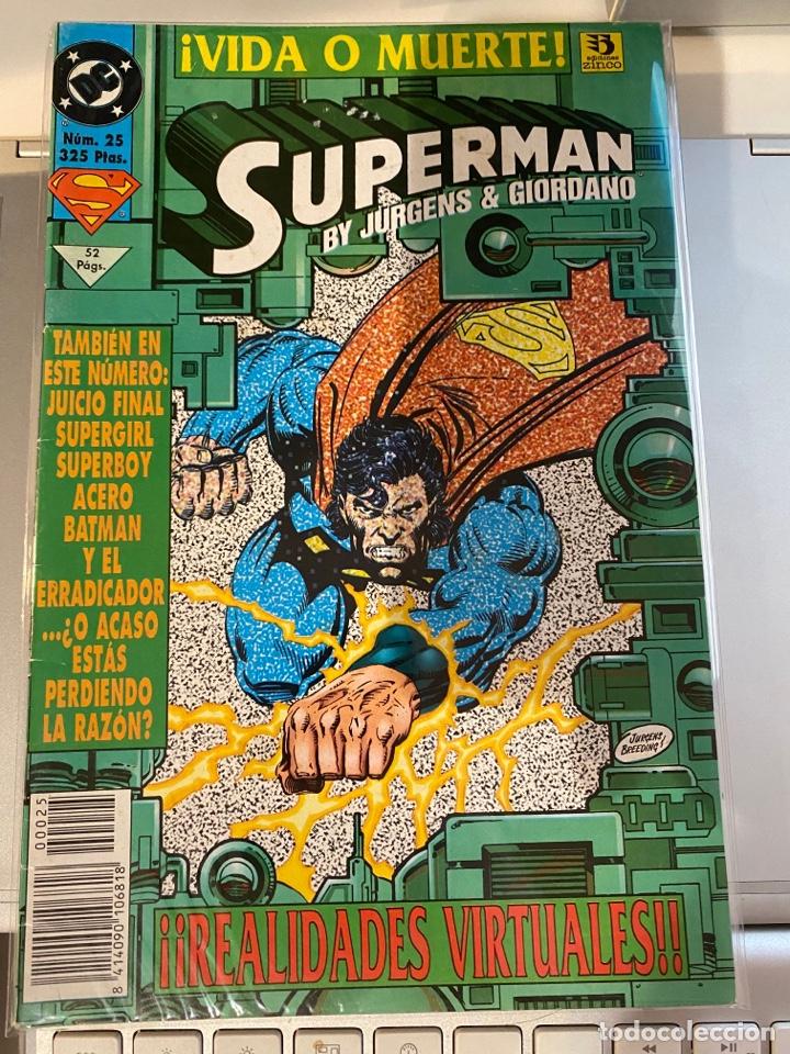 SUPERMAN 25 - EL REINADO DE LOS SUPERHOMBRES - ZINCO (Tebeos y Comics - Zinco - Superman)