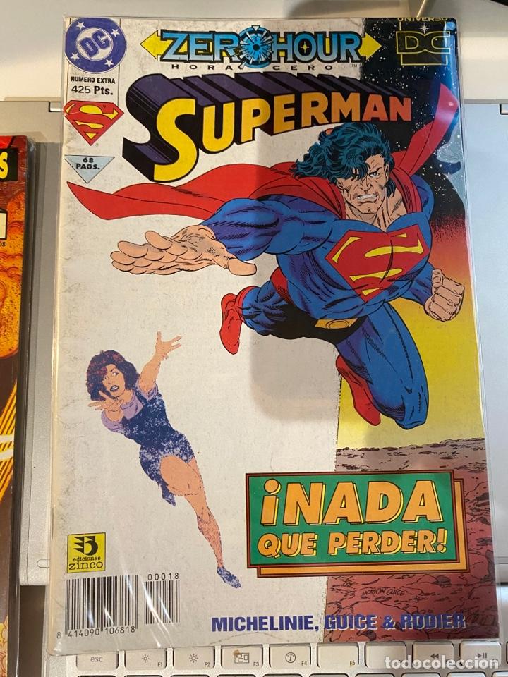 SUPERMAN 18 - EL REINADO DE LOS SUPERHOMBRES - ZINCO (Tebeos y Comics - Zinco - Superman)