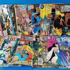 Comics : LOTE 41 COMICS LOS NUEVO TITANES-DC COMICS Nº 1 AL 41 COMPLETA. SEGUNDA SERIE. Lote 262155315