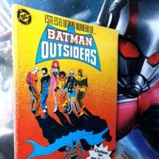 Cómics: MUY BUEN ESTADO BATMAN OUTSIDERS 5 RETAPADO 21 AL 25 CÓMICS DC EDICIONES ZINCO. Lote 262218195