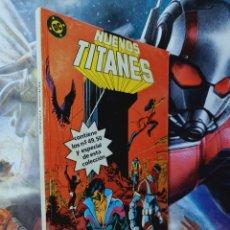 Cómics: MUY BUEN ESTADO NUEVOS TITANES 49 AL 50 RETAPADO 11 DC EDICIONES ZINCO. Lote 262221200