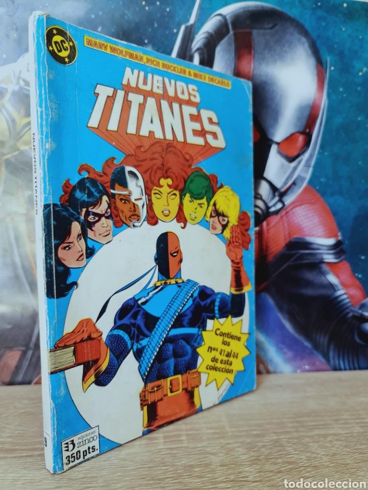 NUEVOS TITANES 41 AL 44 RETAPADO 9 DC NORMAL ESTADO EDICIONES ZINCO (Tebeos y Comics - Zinco - Retapados)