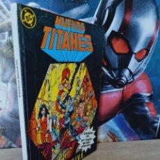 Cómics: MUY BUEN ESTADO NUEVOS TITANES 36 AL 40 RETAPADO 2 DC EDICIONES ZINCO. Lote 262221975