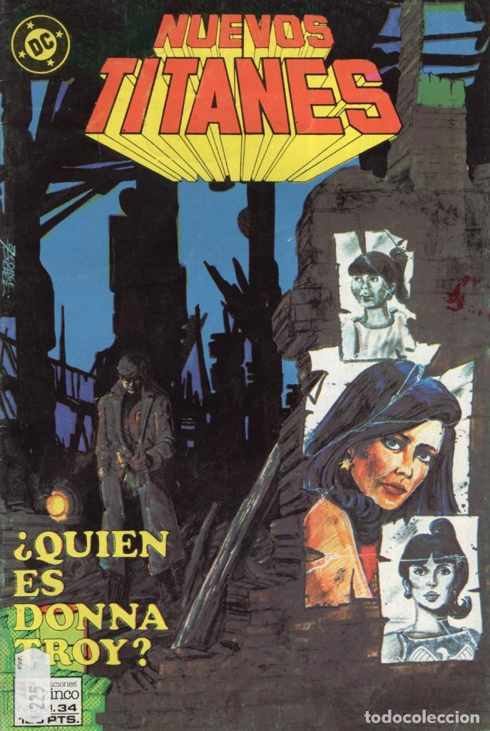 NUEVOS TITANES VOL. 1 Nº 34 - ZINCO - BUEN ESTADO (Tebeos y Comics - Zinco - Nuevos Titanes)