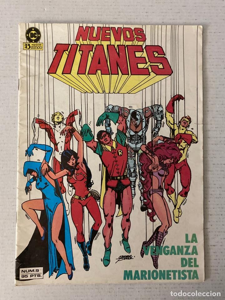 NUEVOS TITANES VOL 1 ZINCO #9 (Tebeos y Comics - Zinco - Nuevos Titanes)