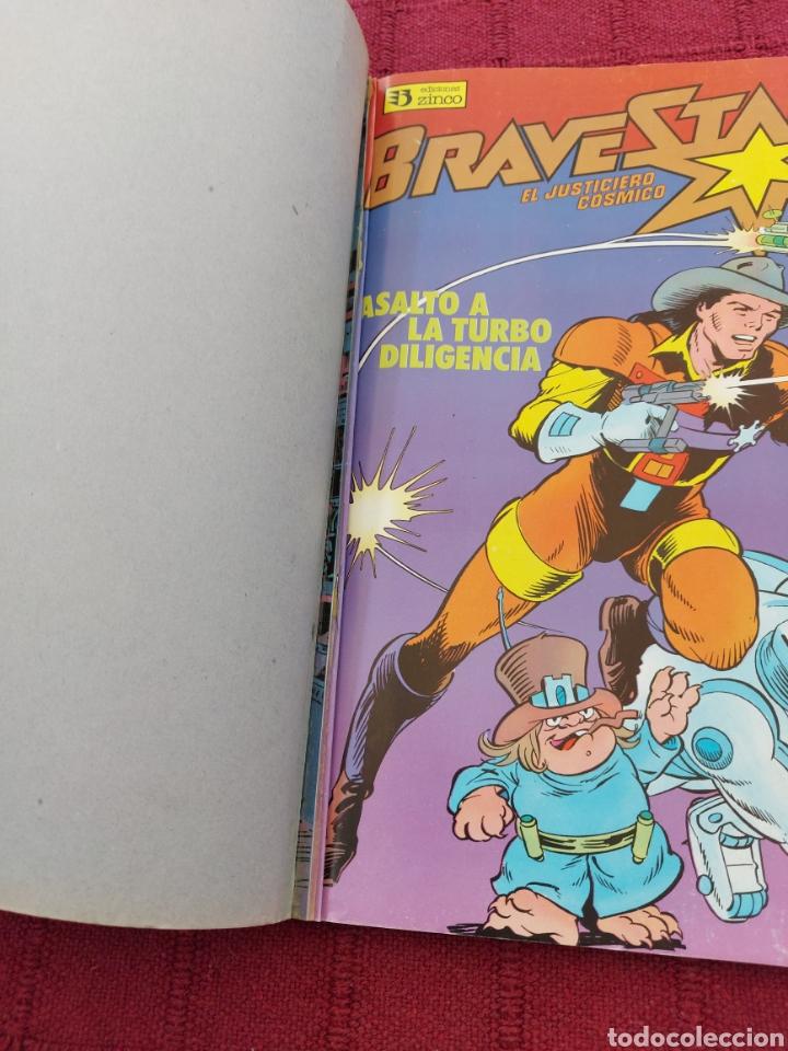 Cómics: BRAVESTARR EL JUSTICIERO COSMICO, COMIC RETAPADO CON LOS NUMEROS DEL 1 AL 5 ,EDICIONES ZINCO - Foto 10 - 262381175