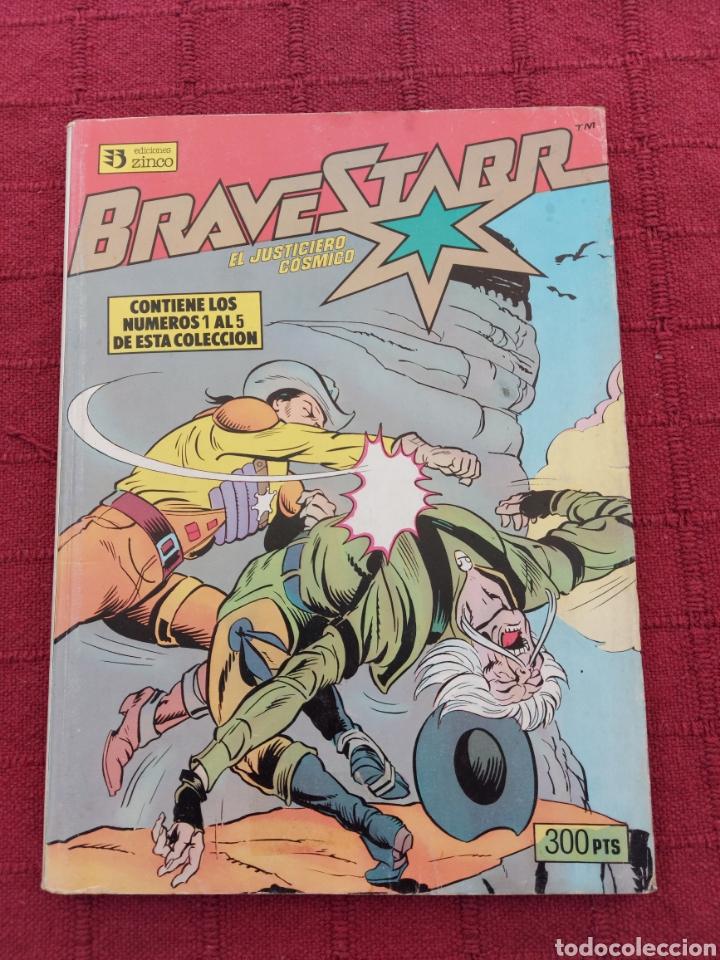 BRAVESTARR EL JUSTICIERO COSMICO, COMIC RETAPADO CON LOS NUMEROS DEL 1 AL 5 ,EDICIONES ZINCO (Tebeos y Comics - Zinco - Retapados)
