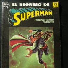 Cómics: EL REGRESO DE SUPERMAN. Lote 262457410