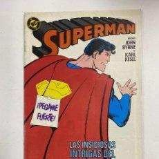 Cómics: SUPERMAN. Nº 40.- LAS INSIDIOSAS INTRIGAS DEL INSIGNIFICANTE BROMISTA. DC / EDICIONES ZINCO.. Lote 262622265