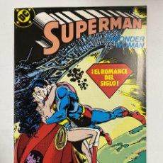 Cómics: SUPERMAN. Nº 44.- WONDER WOMAN. ¡EL ROMANCE DEL SIGLO! DC / EDICIONES ZINCO.. Lote 262665305
