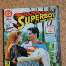 Cómics: SUPERBOY. EL CÓMIC BOOK. EDICIONS ZINCO DC. LA AVENTURA CONTINÚA.. Lote 262749155