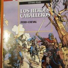 Cómics: LOS HEROES CABALLEROS. PERD-CHEVAL. Lote 262772390