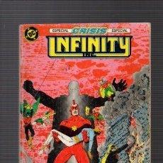 Cómics: INFINITY - ESPECIAL CRISIS / RETAPADO Nº 15 A 18 - DC & ZINCO COMICS. Lote 262867685