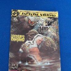 Cómics: LA COSA DEL PANTANO (SWAMP THING) ESPECIAL NAVIDAD - ALAN MOORE / STEPHEN BISSETTE. Lote 262993770