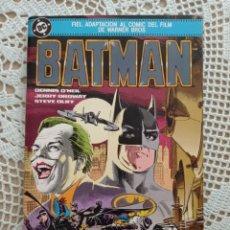 Cómics: BATMAN (FIEL ADAPTACIÓN AL CÓMIC DEL FILM DE WARNER BROS) (EDICIONES ZINCO 1989) O'NEIL ORDWAY OLIFF. Lote 262997970